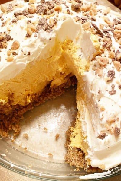 MIle High Pumpkin Fluff Pie