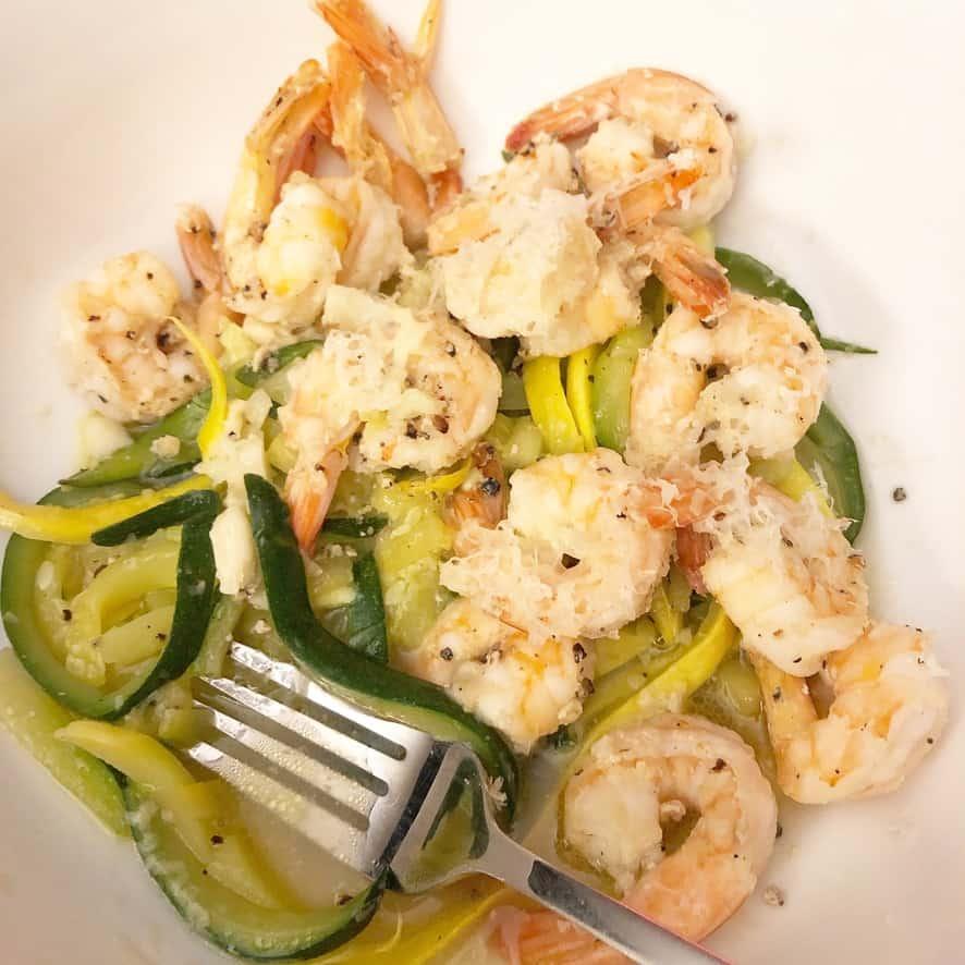 Shrimp & Zoodles