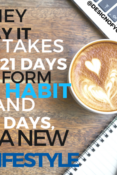 21 days to Form a Habit and 90 Days a New Lifestyle