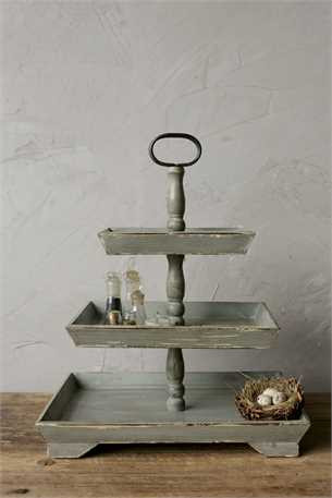 Chesapeak Bay Tiered Tray from Painted Fox Home
