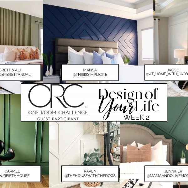 One Room Challenge: Design of Your Life Feature Wall Inspo