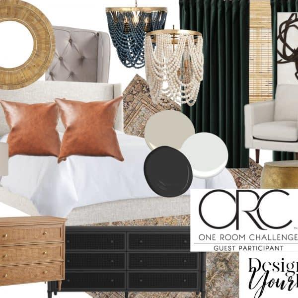 One Room Challenge Design of Your Life Master Bedroom Mood Board