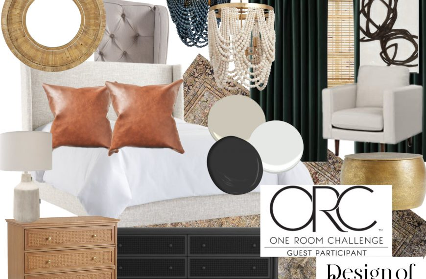 One Room Challenge: Our Master Suite Refresh