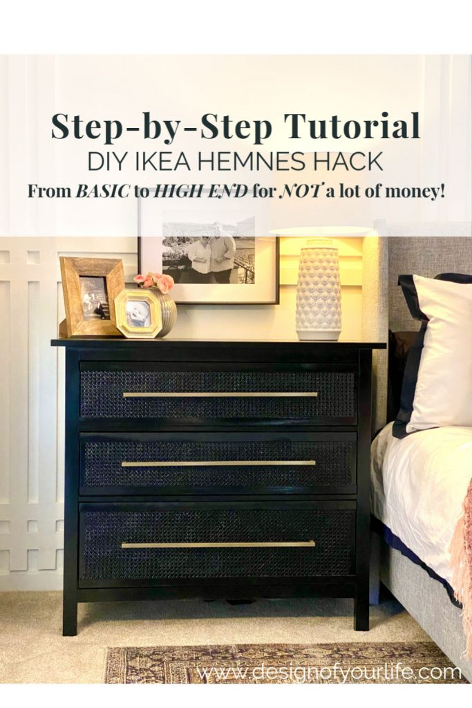 how I turned old IKEA Hemnes dressers into a high end piece