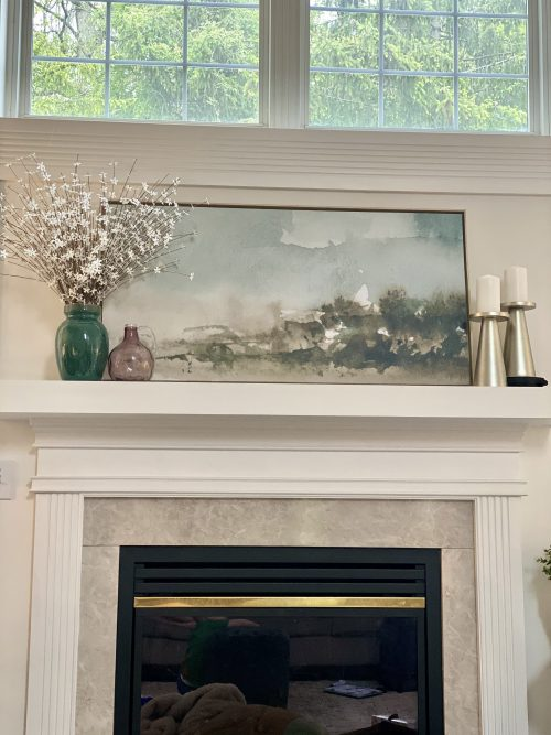 DIY Wider and Thicker Mantel Box